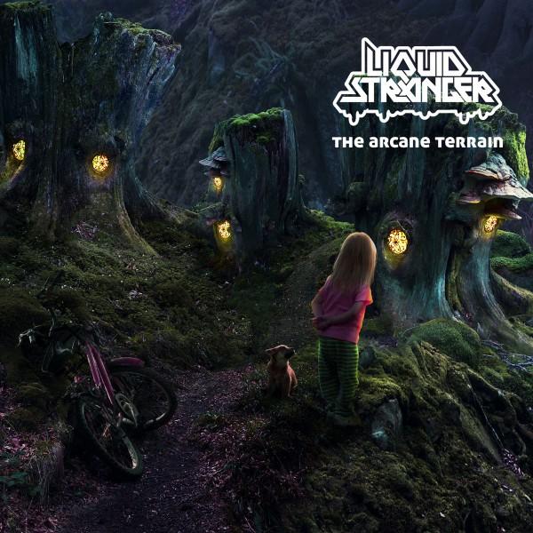 LIQUID STRANGER The Arcane Terrain (Interchill) CD
