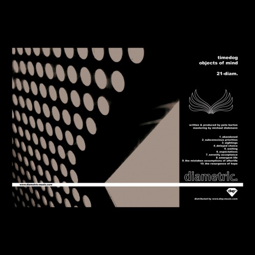 TIMEDOG | Objects of Mind (diametric.) - CD
