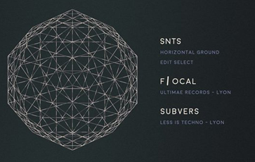 F/ocal will play alongside SNTS & Subvers this friday at the DV1. Expect some deep and heavy Techno.