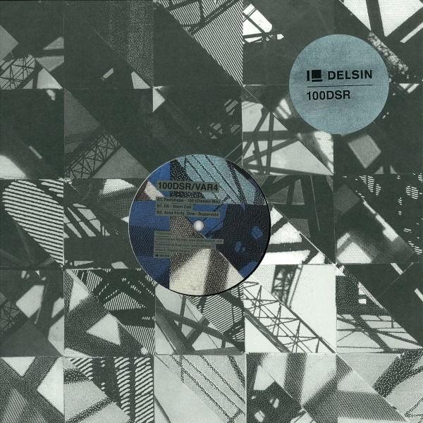 100DSR/VAR4 – Various Artists (Delsin) – Vinyl