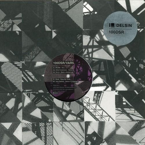100DSR/VAR5 - Various Artists (Delsin) - Vinyl