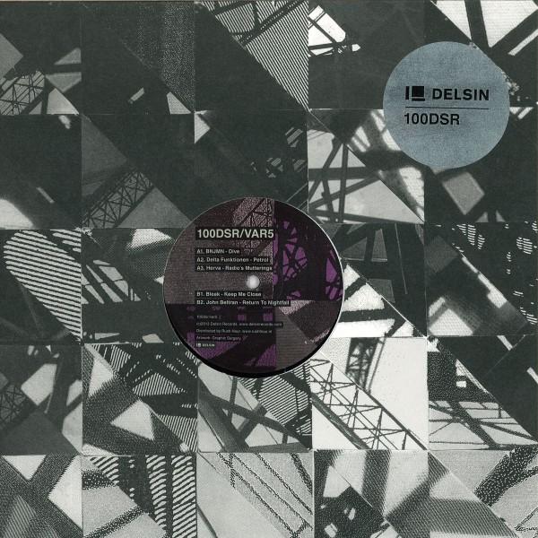 100DSR/VAR5 – Various Artists (Delsin) – Vinyl