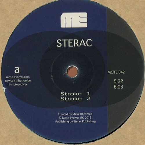 STERAC | Different Strokes (Mote-Evolver) - Vinyl