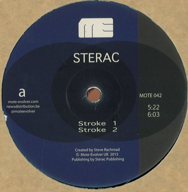 STERAC | Different Strokes (Mote-Evolver) – Vinyl