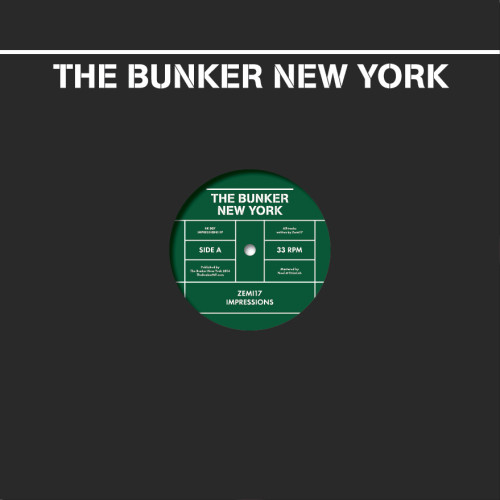 ZEMI17 | Impressions (The Bunker New York) - Vinyl