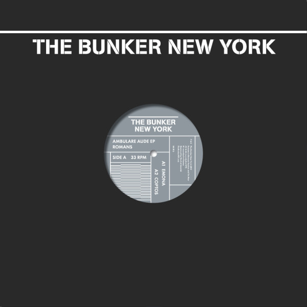 ROMANS | Ambulare Aude (The Bunker New York) – Vinyl