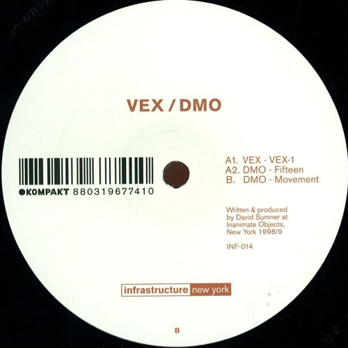 Vex | Dmo (Infrastructure New-York) - Vinyl