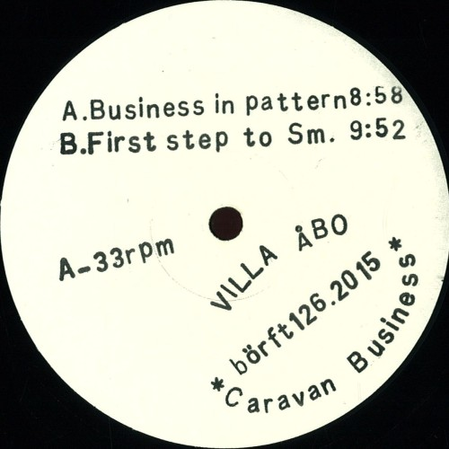 VILLA ABO | Caravan Business (Börft Records) - Vinyl