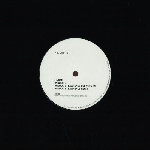 RECONDITE - Limber | Undulate (Acid Test) - Vinyl