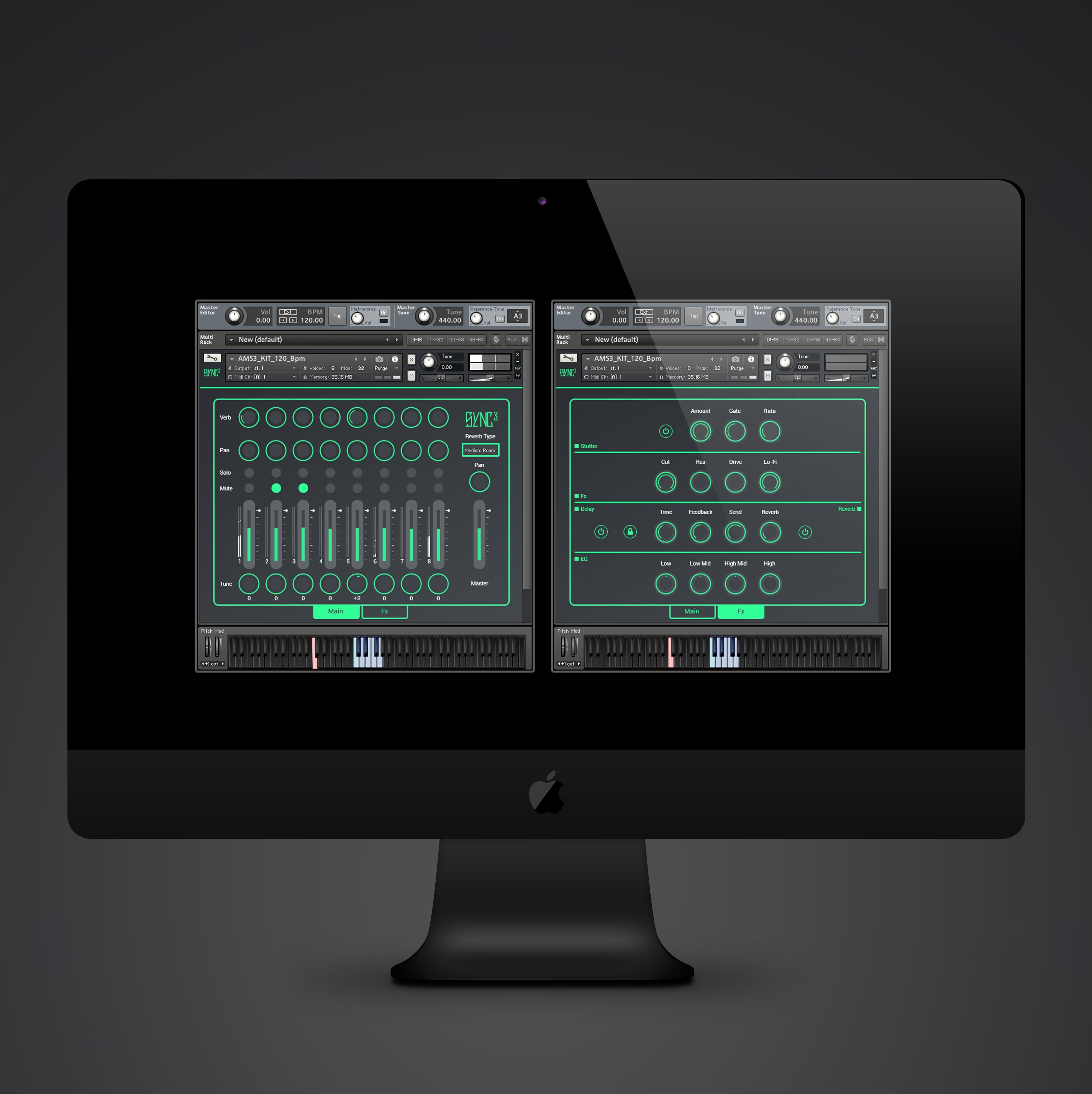 Sync 3 Kontakt Instrument Amp Sample Pack Audiomodern