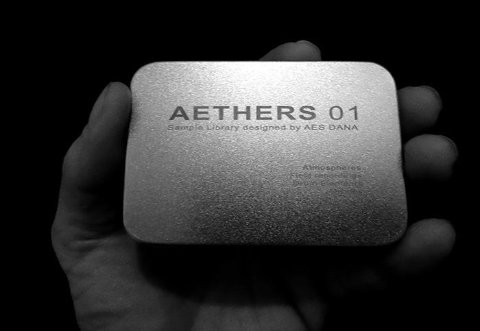 Aes Dana Aethers 01 Ultimae Records Usb Key