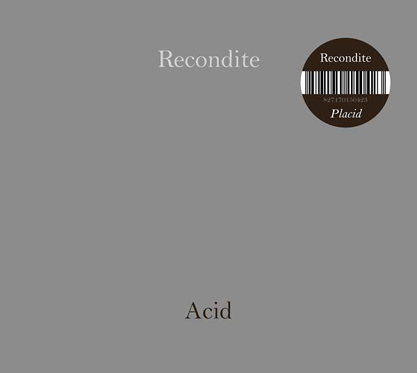 RECONDITE | Placid + On Acid (Acid Test) – CD
