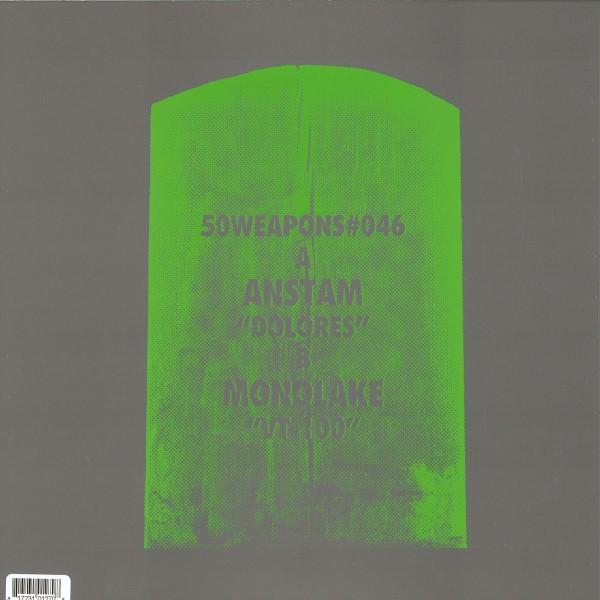 ANSTAM / MONOLAKE | Dolores / Vt-100 (50Weapons) – EP