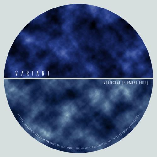 VARIANT | Vortexual [element four] (Echospace Detroit) - CD