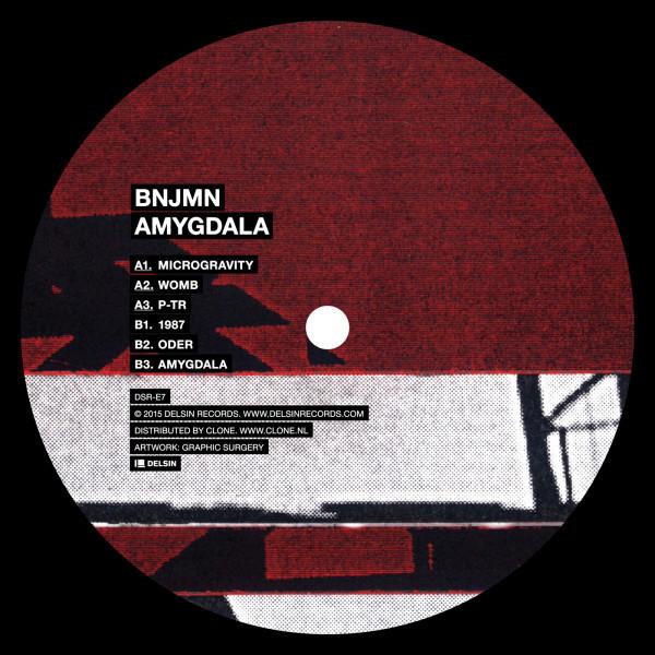 BNJMN | Amygdala (Delsin Records) – Vinyl