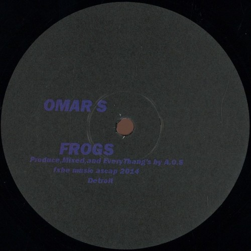 OMAR S | Romancing The Stone (FXHE Records) - Vinyl