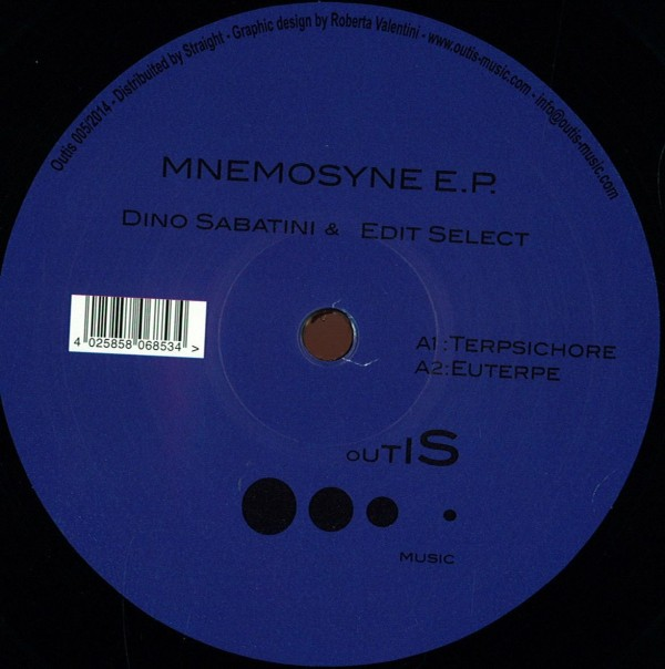 DINO SABATINI & EDIT SELECT   Mnemosyne (Outis Music)