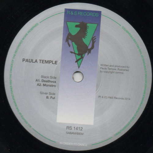 PAULA TEMPLE | Deathvox (R&S) - Vinyl