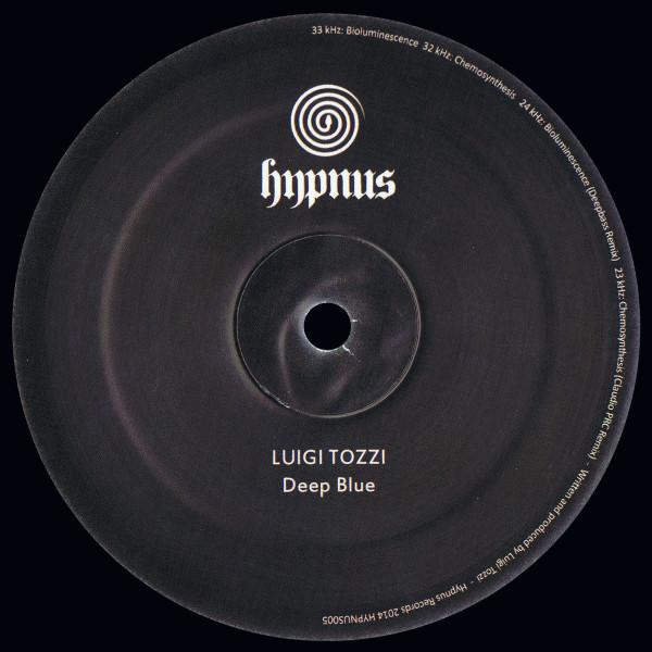 LUIGI TOZZI | Deep Blue (Hypnus Records) – Vinyl