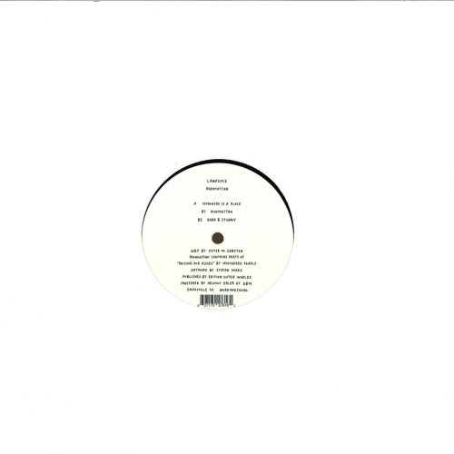 LAWRENCE | Manhattan ( Smallville Records ) - EP