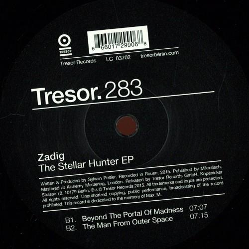 ZADIG | The Stellar Hunter (Tresor) - Vinyl