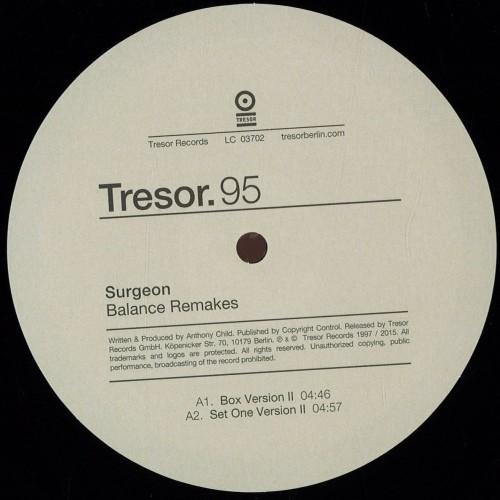 SURGEON | Balance Remakes (Tresor) - Vinyl