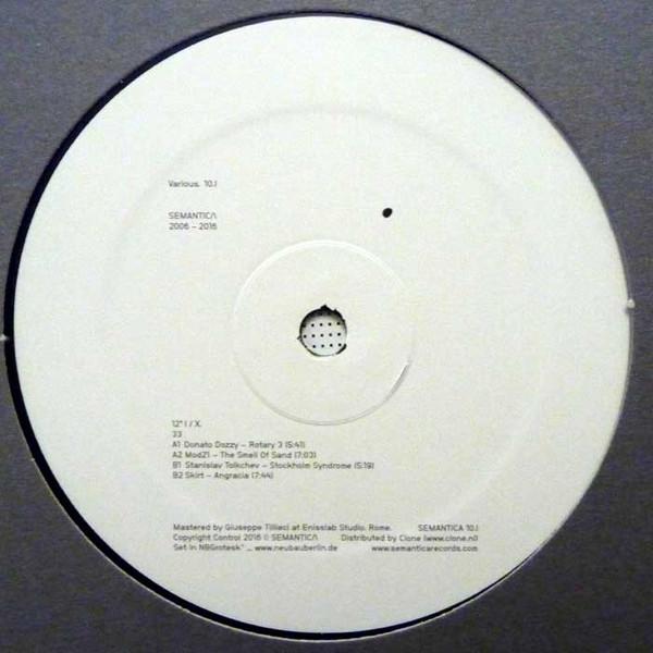 Various - SEMANTICA 2006 - 2016 10.X