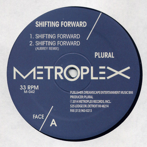 PLURAL | Shifting Forward ( Metroplex ) - EP