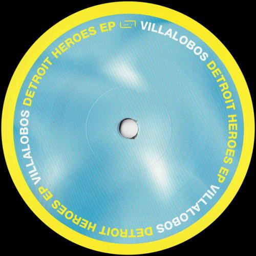 RICARDO VILLALOBOS | Detroit Heroes (Raum Musik) - Vinyl