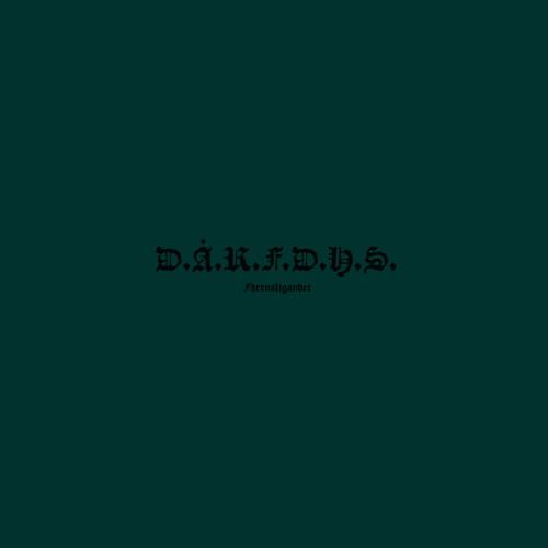 D.Å.R.F.D.H.S. | Förensligandet (Northern Electronics) - Vinyl