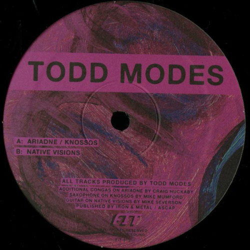 TODD MODES | Native Visions (Fit Sound) - EP