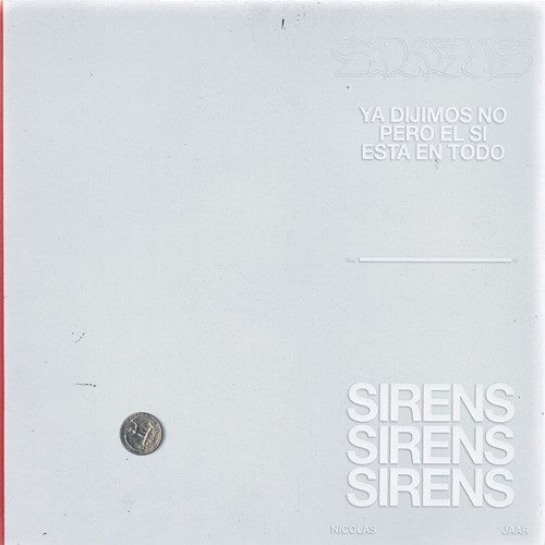 NICOLAS JAAR | Sirens (Other People) - LP