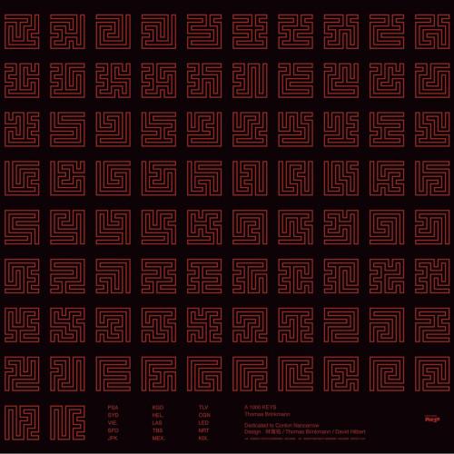 THOMAS BRINKMANN | A 1000 Keys (Editions Mego) - CD/LP