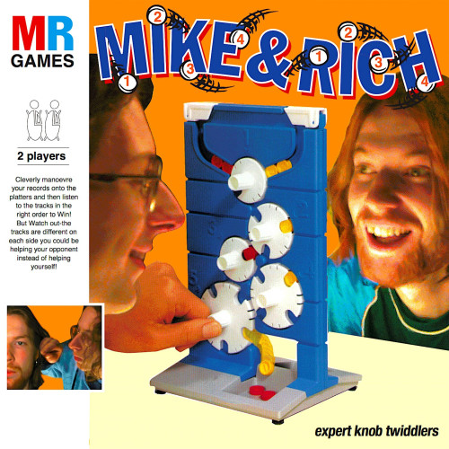 MIKE & RICH | Expert Knob Twiddlers (Planet Mu) - CD/LP