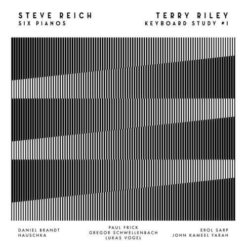 STEVE REICH / TERRY RILEY - Six Pianos | Keyboard Study #1 (Film) - CD