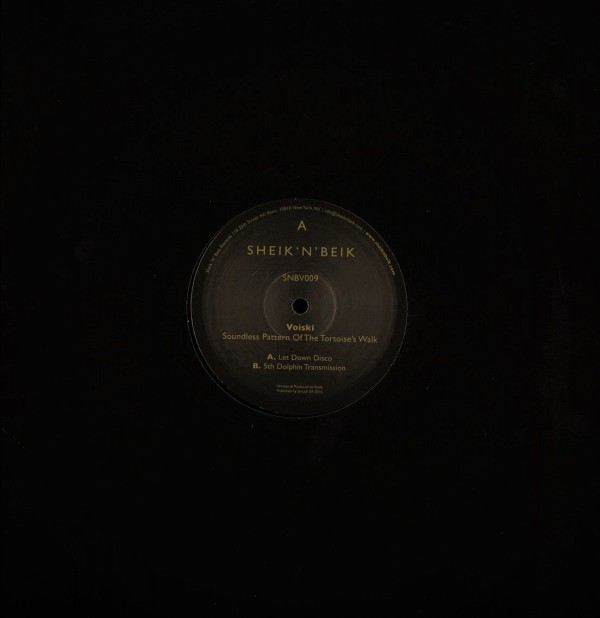VOISKI | Soundless Pattern Of The Tortoise's Walk (Sheik' N' Beik) – EP