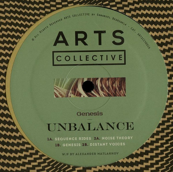 UNBALANCE | Genesis (Arts Collective) – EP