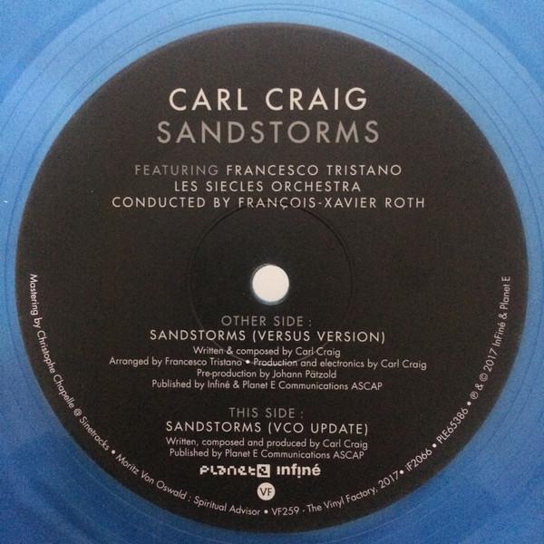 CARL CRAIG | Sandstorms (InFiné) – EP