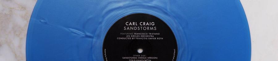 CARL CRAIG | Sandstroms EP (Infiné)