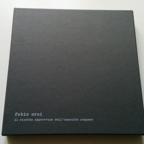 FABIO ORSI | Il Ricordo Improvviso Dell'Assoluto Stupore (Backwards) - LP/Book