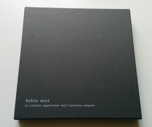 FABIO ORSI | Il Ricordo Improvviso Dell'Assoluto Stupore (Backwards) – LP/Book