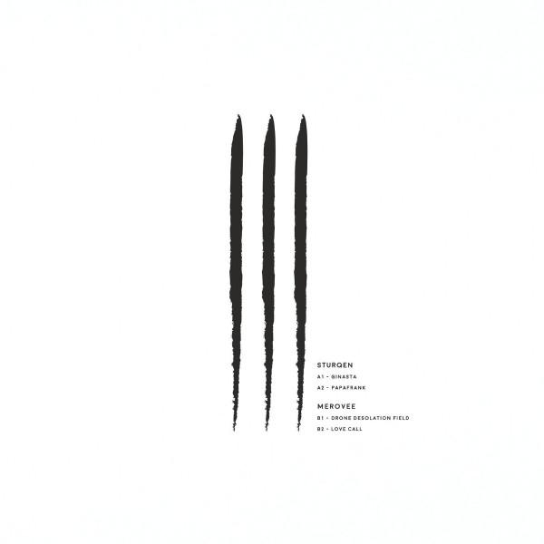 LiT003   Sturqen / Merovee (Less is Techno) – Vinyl