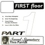 THEO PARRISH | First Floor Part 1 (Peacefrog Records) - 2xLP