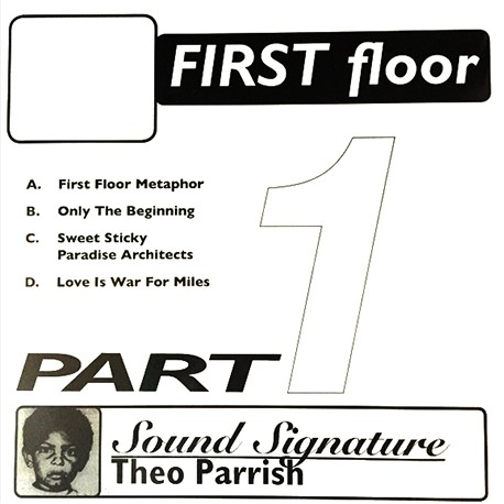 THEO PARRISH | First Floor Part 1 (Peacefrog Records) – 2xLP