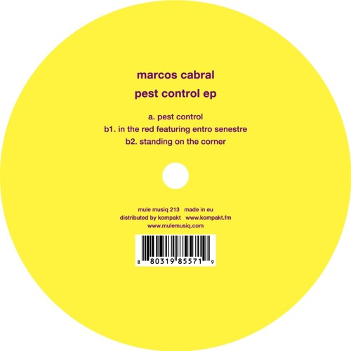 MARCOS CABRAL | Pest Control (Mule Musiq) - EP