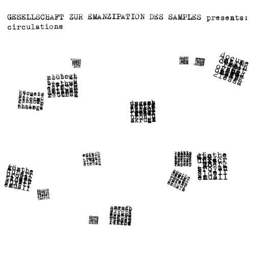 GESELLSCHAFT ZUR EMANZIPATION DES SAMPLES | Circulation (Faitiche) - CD