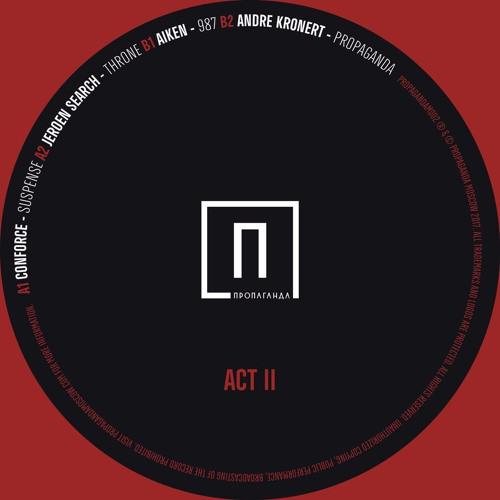 VARIOUS ARTISTS | Act II (Propaganda Moscow) - EP