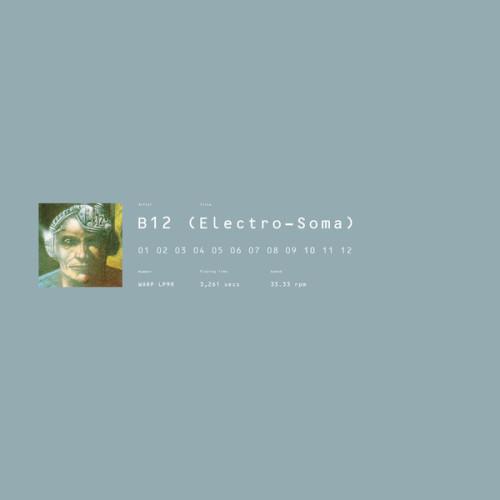 B12 | Electro-Soma (Warp Records) - 2xLP