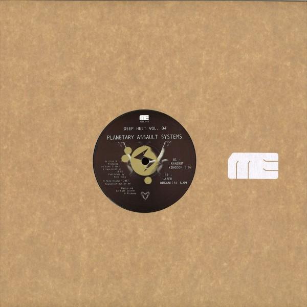 PLANETARY ASSAULT SYSTEMS | Deep Heet Vol.4 (Mote-Evolver) – EP