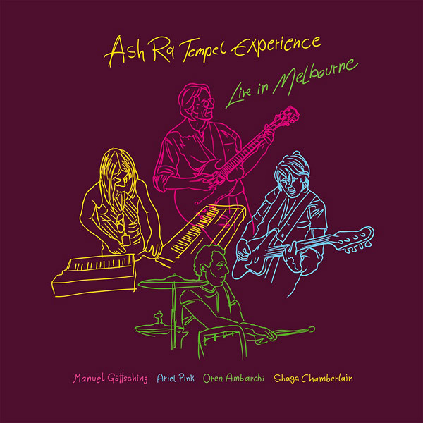 ASH RA TEMPEL EXPERIENCE | Live In Melbourne (MG.ART) – CD